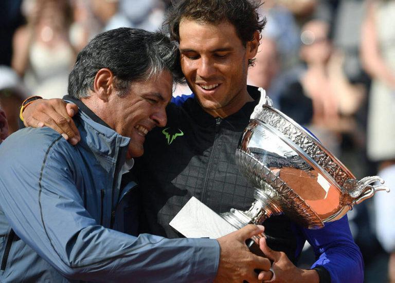 """""""Savoir que je ne suis pas assez bon, être conscient de la réalité, c'est le point de départ pour atteindre ses buts."""" Toni Nadal"""